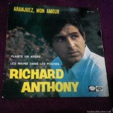 Discos de vinilo: VINILO RICHARD ANTHONY. Lote 57254065