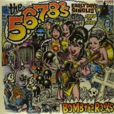 Discos de vinilo: 2LP THE 5,6,7,8'S BOMB THE ROCKS VINILO GARAGE PUNK. Lote 57254148