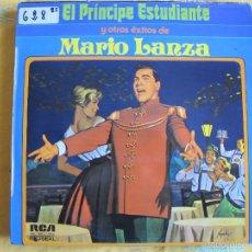 Discos de vinilo: LP - MARIO LANZA - EL PRINCIPE ESTUDISNTE Y OTROS EXITOS (SPAIN, RCA 1974). Lote 57260949