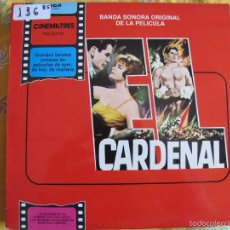 Discos de vinilo: LP - EL CARDENAL - MUSIC BY JEROME MOROSS (SPAIN, RCA RECORDS 1981). Lote 57261961