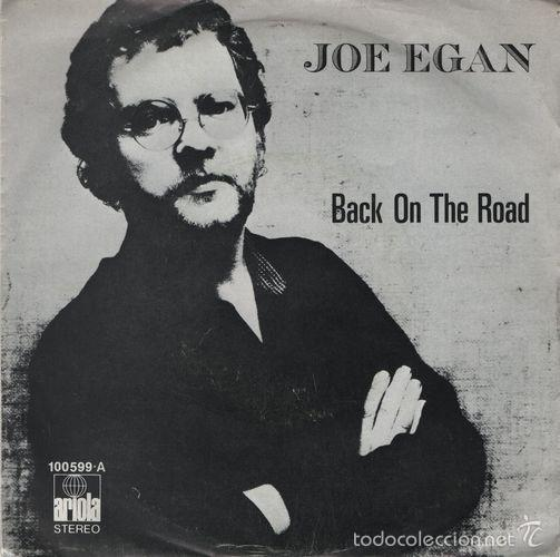 JOE EGAN Back On The Road Spanish 45 Spain 1979 Stealers Wheel Prog Folk segunda mano
