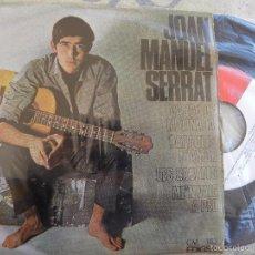 Discos de vinilo: JOAN MANUEL SERRAT -PARAULES D'AMOR -EP 1966 -PEDIDO MINIMO 3 EUROS. Lote 57268203