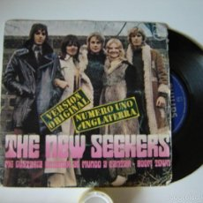 Discos de vinilo: THE NEW SEEKERS - I'D LIKE TO TEACH THE WORLD TO SINGLES / BOOM TOWN - 1972 ESPAÑA SINGLES 45 RPM. Lote 57270166