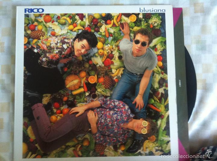 LP RICO-BLUSIANA (Música - Discos - LP Vinilo - Grupos Españoles de los 90 a la actualidad)