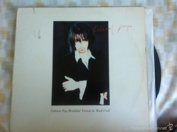 LP CABARET POP-REALIDAD VIRTUAL.. (Música - Discos - LP Vinilo - Grupos Españoles de los 90 a la actualidad)