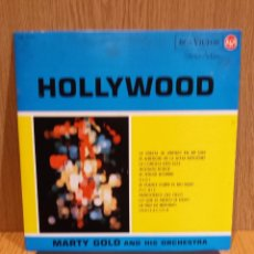Discos de vinilo: MARTY GOLD AND HIS ORCHESTRA. HOLLYWOOD. LP / RCA-VICTOR - 1965 / LUJO. ****/****. Lote 57272557