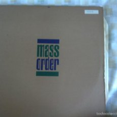 Discos de vinilo: LP DOBLE-MASS ORDER-LIFT EVERY VOICE. Lote 57272593