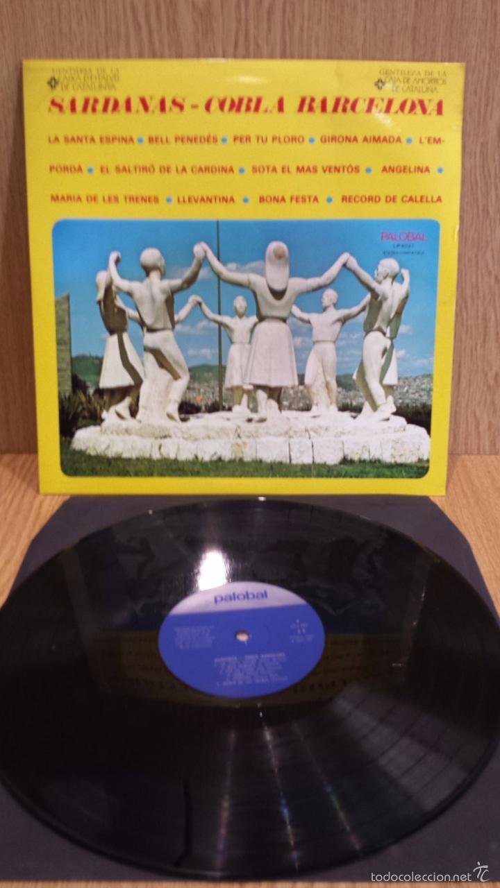 COBLA BARCELONA. SARDANAS. LP / PALOBAL - 1967 / MBC. **/*** (Música - Discos - LP Vinilo - Country y Folk)