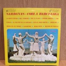 Discos de vinilo: COBLA BARCELONA. SARDANAS. LP / PALOBAL - 1967 / MBC. **/***. Lote 57274470
