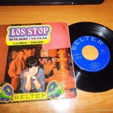 Discos de vinilo: LOS STOP YO TE DARE / LA GRUA / LA, LA, LA / TOLEDO EUROVISION EP VINILO 1968 BELTER 4 TEMAS. Lote 57275756