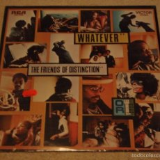 Discos de vinilo: THE FRIENDS OF DISTINCTION ( WHATEVER ) NEW YORK-USA 1970 LP33 RCA. Lote 57275883