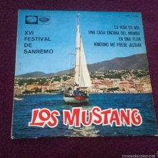 Discos de vinilo: VINILO LOS MUSTANG. Lote 57277960