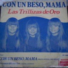 Discos de vinilo: SENCILLO ARGENTINO DE LAS TRILLIZAS DE ORO AÑO 1969 . Lote 57278835