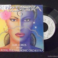 Discos de vinilo: LUIS COBOS DIRIGE THE ROYAL PHILHARMONIC ORCHESTRA-DISCO SINGLE-SG14-SOL Y SOMBRA-SIN CARA B-1983. Lote 57281843