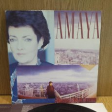 Discos de vinilo: AMAYA. SOBRE EL LATIDO DE LA CIUDAD. LP / RCA-VICTOPR - 1988 / BC. ***/***. Lote 57290141