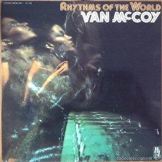 Discos de vinilo: VAN MCCOY : RHYTHMS OF THE WORLD [ESP 1976] LP. Lote 55034310