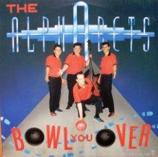 Discos de vinilo: LP THE ALPHABETS – BOWL YOU OVER. Lote 57296043