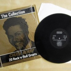Discos de vinilo: CHUCK BERRY - THE COLLECTION, 20 ROCK 'N' ROLL GREATS - VINILO ORIGINAL 1986 EDICION DEJA VU ITALIA. Lote 57296465