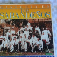 Discos de vinilo: LP 6 LOS SABANDEÑOS-EDICION 20 ANIVERSARIO-HISTORIA DE LOS SABANDEÑOS. Lote 57298810