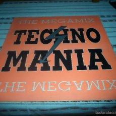 Discos de vinilo: TECHNO MANIA. Lote 57299662