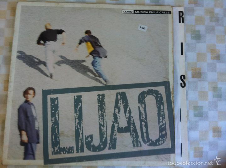 LP LIJAO-MUSICA EN LA CALLE (Música - Discos - LP Vinilo - Grupos Españoles de los 70 y 80)