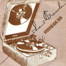 Discos de vinilo: JOAN MANUEL SERRAT - SINGLE PROMO 7'' - SI NO US SAP GREU + 1 - LA GRAMOLA / ARIOLA 1980. Lote 57302305