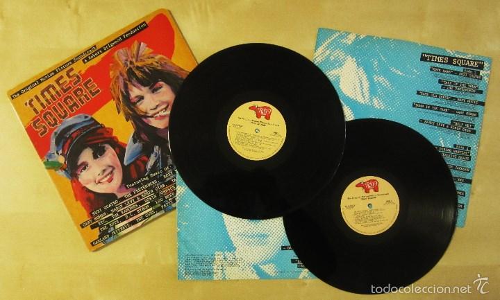 ORIGINAL MOTION PICTURE SOUNDTRACK - TIMES SQUARE - DOBLE ALBUM VINILO ORIGINAL 1980 RSO RECORDS USA (Música - Discos - LP Vinilo - Bandas Sonoras y Música de Actores )