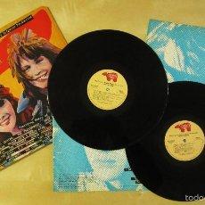 Discos de vinilo: ORIGINAL MOTION PICTURE SOUNDTRACK - TIMES SQUARE - DOBLE ALBUM VINILO ORIGINAL 1980 RSO RECORDS USA. Lote 57302730