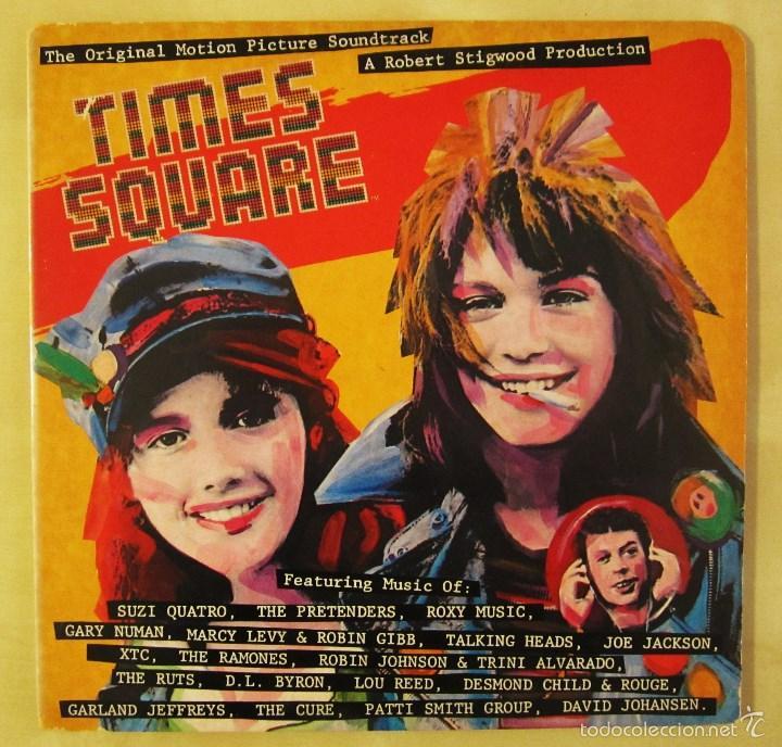 Discos de vinilo: ORIGINAL MOTION PICTURE SOUNDTRACK - TIMES SQUARE - DOBLE ALBUM VINILO ORIGINAL 1980 RSO RECORDS USA - Foto 2 - 57302730