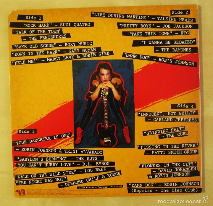 Discos de vinilo: ORIGINAL MOTION PICTURE SOUNDTRACK - TIMES SQUARE - DOBLE ALBUM VINILO ORIGINAL 1980 RSO RECORDS USA - Foto 3 - 57302730