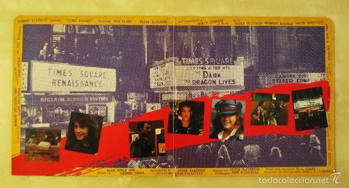 Discos de vinilo: ORIGINAL MOTION PICTURE SOUNDTRACK - TIMES SQUARE - DOBLE ALBUM VINILO ORIGINAL 1980 RSO RECORDS USA - Foto 4 - 57302730