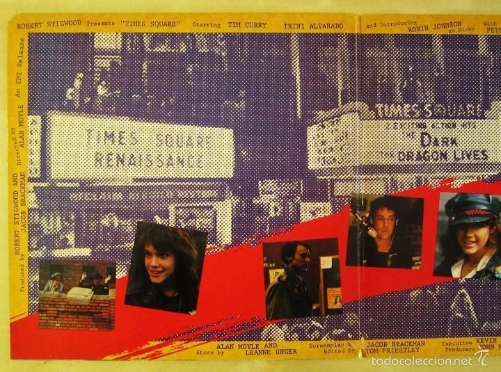 Discos de vinilo: ORIGINAL MOTION PICTURE SOUNDTRACK - TIMES SQUARE - DOBLE ALBUM VINILO ORIGINAL 1980 RSO RECORDS USA - Foto 5 - 57302730