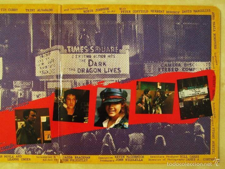 Discos de vinilo: ORIGINAL MOTION PICTURE SOUNDTRACK - TIMES SQUARE - DOBLE ALBUM VINILO ORIGINAL 1980 RSO RECORDS USA - Foto 6 - 57302730