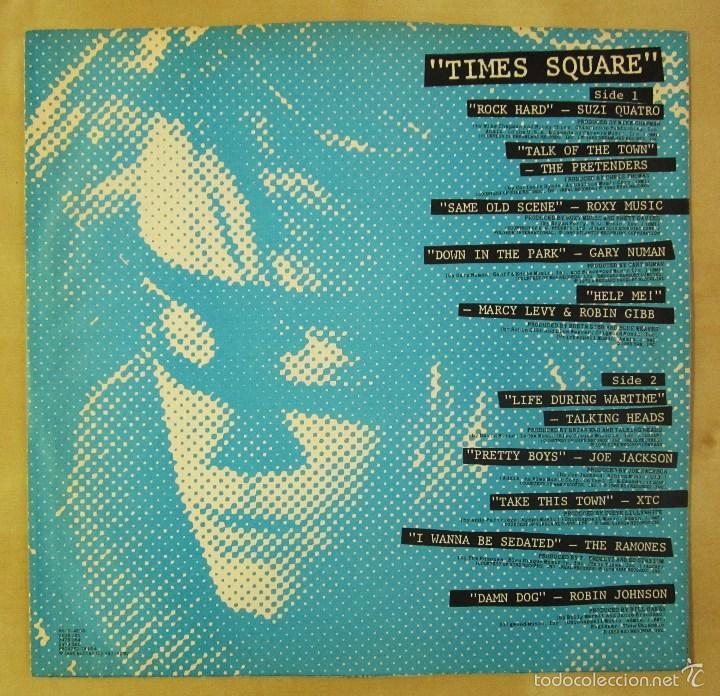 Discos de vinilo: ORIGINAL MOTION PICTURE SOUNDTRACK - TIMES SQUARE - DOBLE ALBUM VINILO ORIGINAL 1980 RSO RECORDS USA - Foto 7 - 57302730