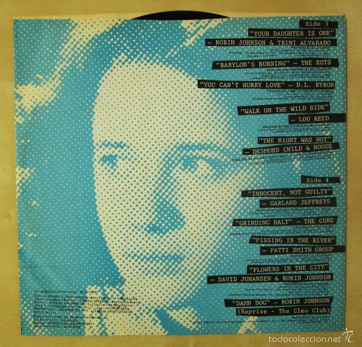 Discos de vinilo: ORIGINAL MOTION PICTURE SOUNDTRACK - TIMES SQUARE - DOBLE ALBUM VINILO ORIGINAL 1980 RSO RECORDS USA - Foto 10 - 57302730