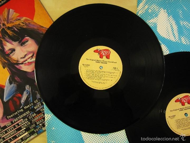Discos de vinilo: ORIGINAL MOTION PICTURE SOUNDTRACK - TIMES SQUARE - DOBLE ALBUM VINILO ORIGINAL 1980 RSO RECORDS USA - Foto 11 - 57302730