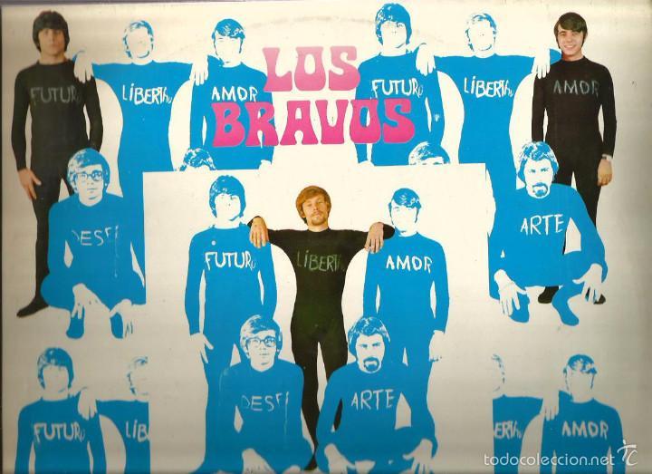 LP LOS BRAVOS : ILUSTRISIMOS BRAVOS ( EDICION ORIGINAL COLUMBIA, DEL AÑO 1969) (Música - Discos - LP Vinilo - Grupos Españoles 50 y 60)