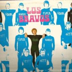 Discos de vinilo: LP LOS BRAVOS : ILUSTRISIMOS BRAVOS ( EDICION ORIGINAL COLUMBIA, DEL AÑO 1969). Lote 57303220