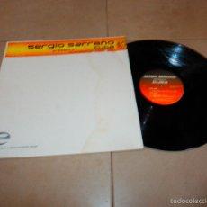 Discos de vinilo: SERGIO SERRANO PRESENTS CUBA INCLUDED REMIX BY WALLY LOPEZ DR KUCHO EP DISCO DANCE TECHNO F5. Lote 57303457