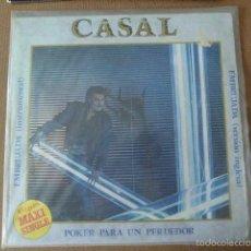 Discos de vinilo: CASAL. EMBRUJADA - POKER PARA UN PERDEDOR. EMI-ODEON, 1983.. Lote 57303771
