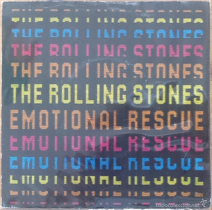 THE ROLLING STONES : EMOTIONAL RESCUE [UK 1980] 7' (Música - Discos - Singles Vinilo - Pop - Rock - Extranjero de los 70)