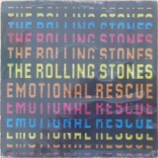 Discos de vinilo: THE ROLLING STONES : EMOTIONAL RESCUE [UK 1980] 7'. Lote 55056803