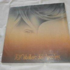 Discos de vinilo: FERNANDO ARBEX ( BRINCOS) (BARRABAS) LP EL CABALLERO DEL ARCO IRIS (1981) INSTRUMENTAL-NUEVO-. Lote 57306510