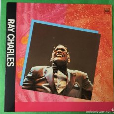 Discos de vinilo: RAY CHARLES - I WAS ON GEORGIA TIME - LP AÑO 1989. Lote 57309441
