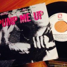 Disques de vinyle: GRANDMASTER MELLE MEL & THE FURIOUS FIVE (PUMP ME UP) SINGLE ESPAÑA 1985 (EPI1). Lote 57312855