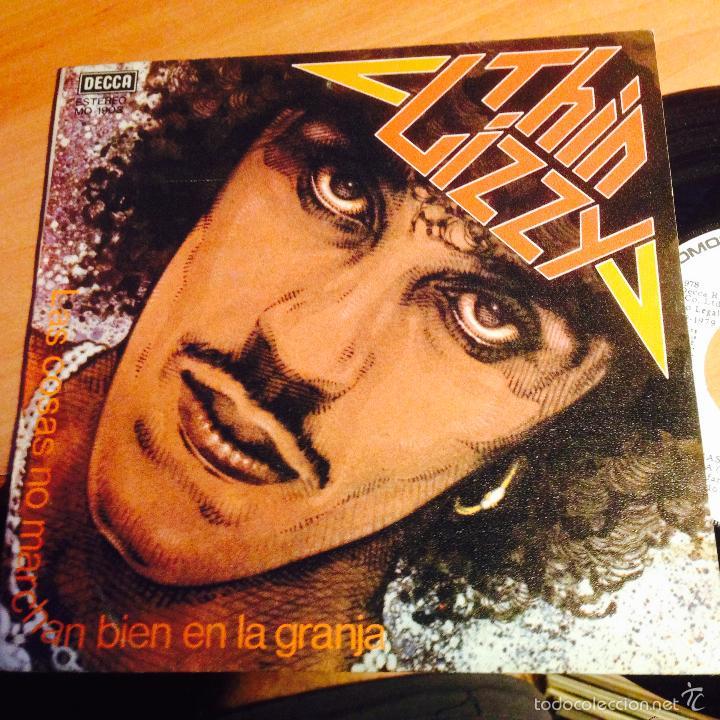 Discos de vinilo: THIN LIZZY (LAS COSAS NO MARCHAN BIEN EN LA GRANJA + 2) EP ESPAÑA 1979 PROMO MO1903 (EPi15) - Foto 2 - 57313481