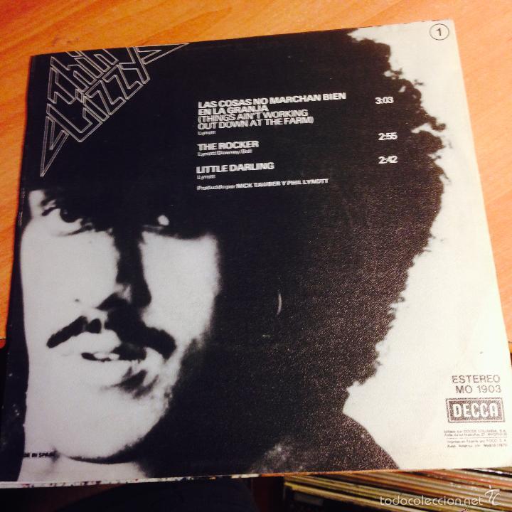 Discos de vinilo: THIN LIZZY (LAS COSAS NO MARCHAN BIEN EN LA GRANJA + 2) EP ESPAÑA 1979 PROMO MO1903 (EPi15) - Foto 4 - 57313481