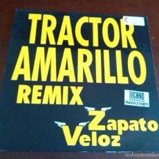 Discos de vinilo: ZAPATO VELOZ - TRACTOR AMARILLO - REMIX - MAXI SINGLE.12 - 1993. Lote 57315310