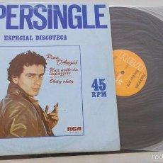 Discos de vinilo: PINO D'ANGIO - UNA NOTTE DE IMPAZZIRE - OKAY OKAY - MAXI SINGLE RCA 1981 - ITALO DANCE. Lote 57318699