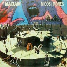 Discos de vinilo: LA MADAM-MICOS I MONES LP VINILO 1989 + INSRT SPAIN. Lote 57320256